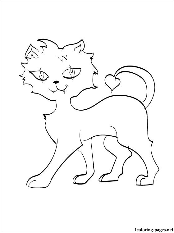 560x750 Crescent Monster High Coloring Page Coloring Pages