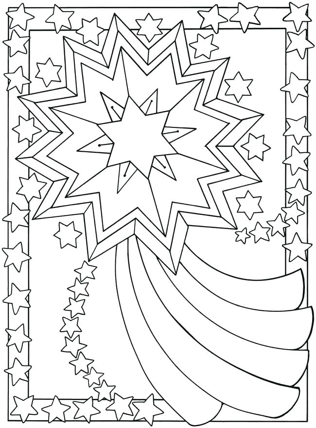 650x880 Crescent Moon Coloring Page Crescent Moon Coloring Page Sun Moon