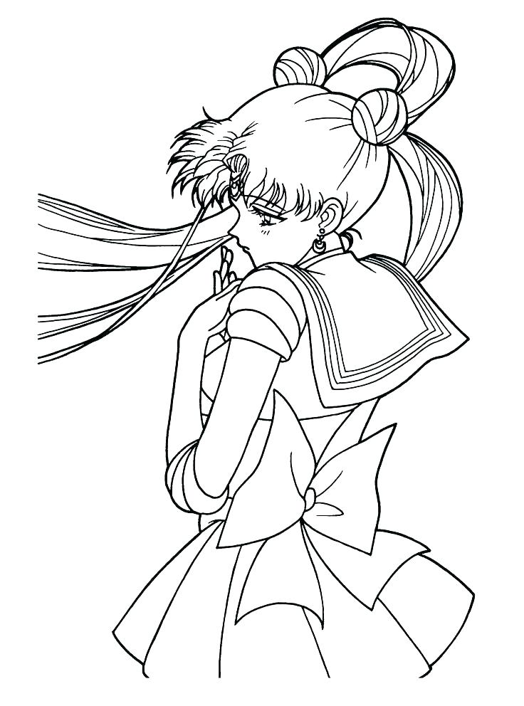 736x992 Crescent Moon Coloring Page Sailor Moon Coloring Crescent Moon