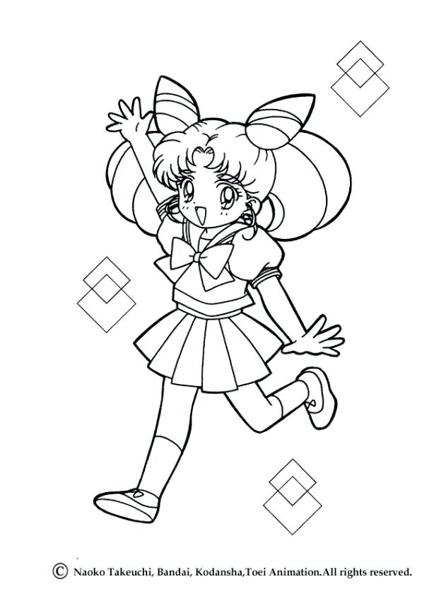 631x850 Sailor Moon Coloring Pages Crescent Moon Coloring Page Moon