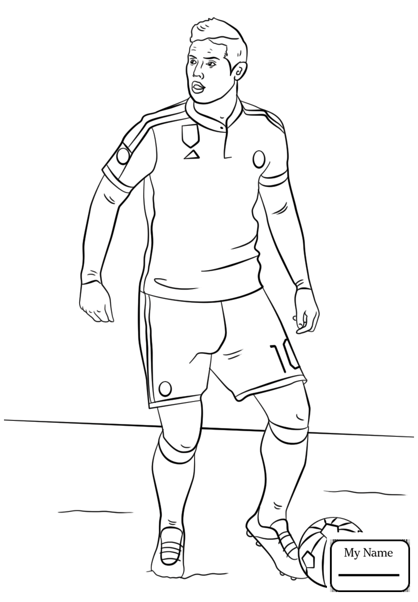 Cristiano Ronaldo Coloring Pages At Getdrawings Com Free For