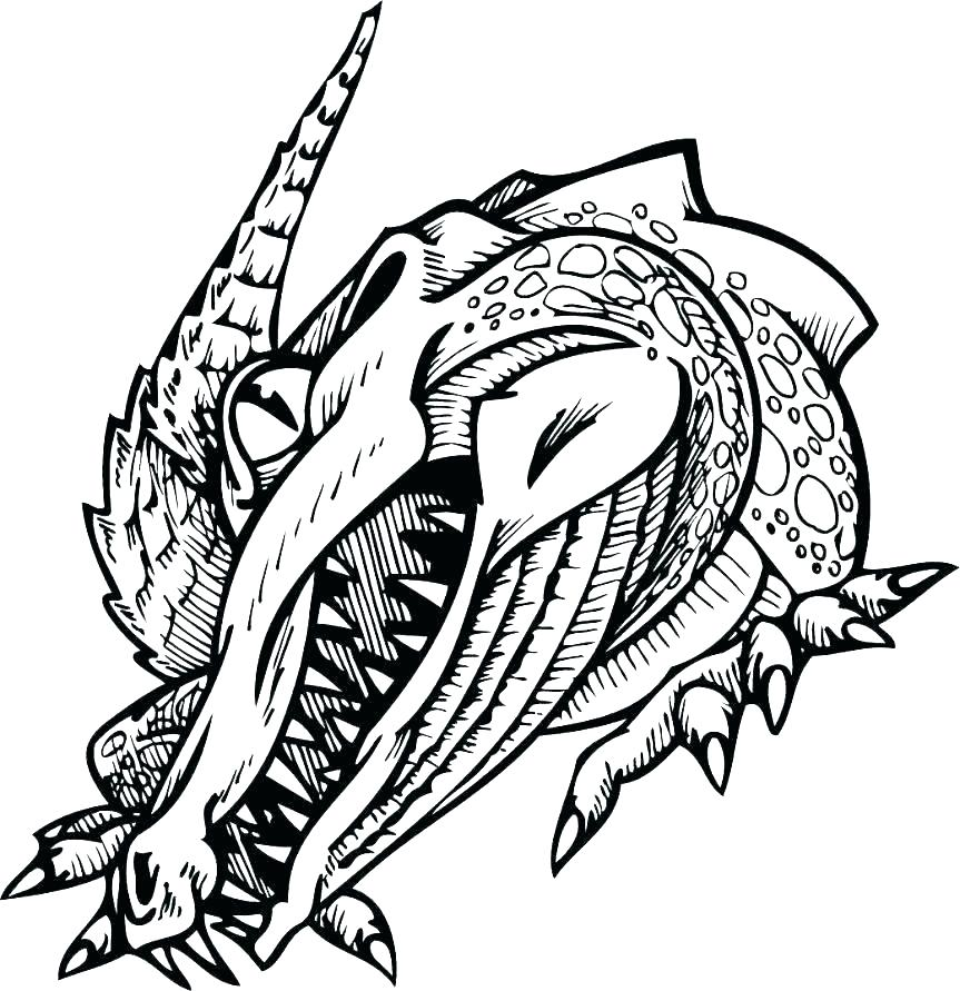 863x891 Coloring Page Alligator Alligator Coloring Pages Alligator