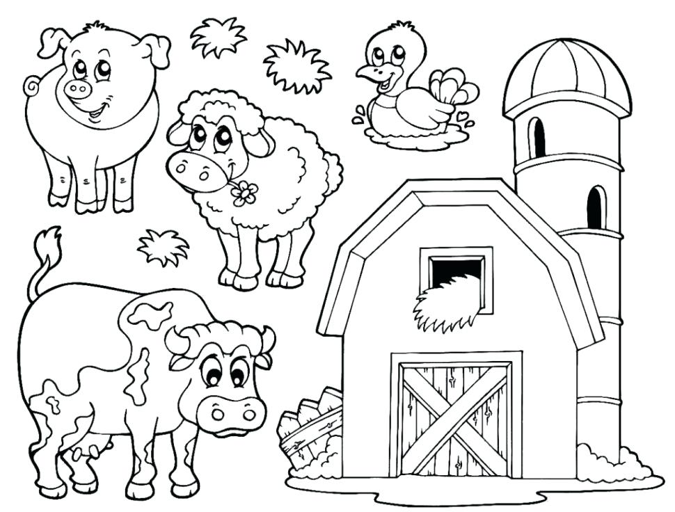image relating to Printable Farm Coloring Pages referred to as Vegetation Coloring Internet pages at  Free of charge for particular person