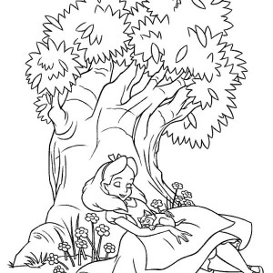 300x300 Tractor Take Away Crops Coloring Page
