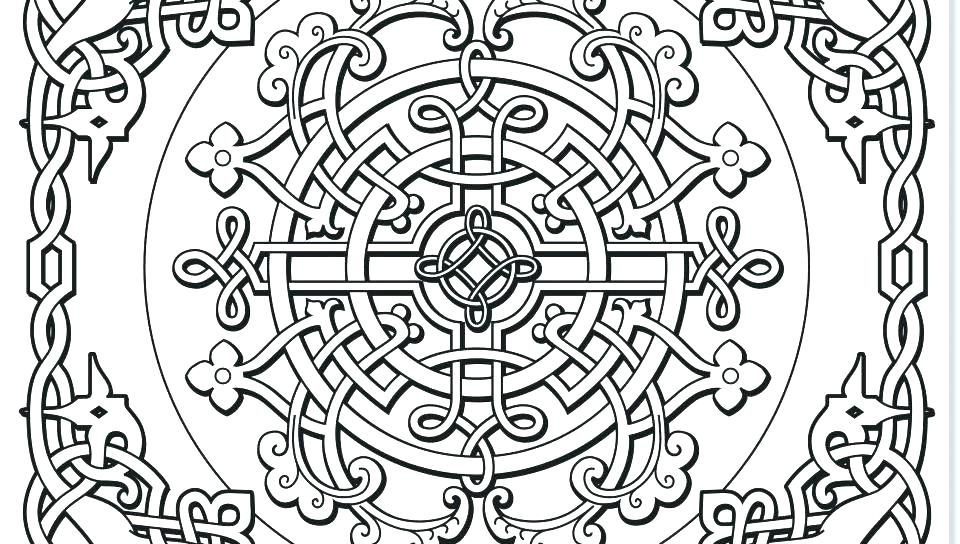 960x544 Celtic Coloring Pages For Adults Coloring Pages For Adults Mandala