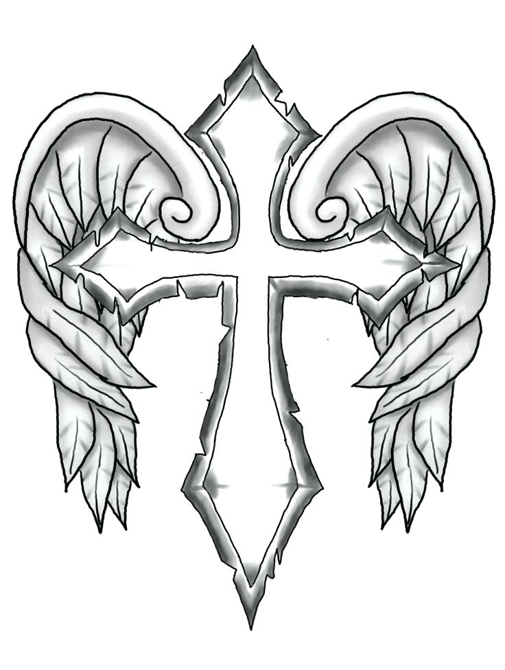 736x976 Coloring Pages Of Crosses Coloring Pages Crosses Coolest Coloring