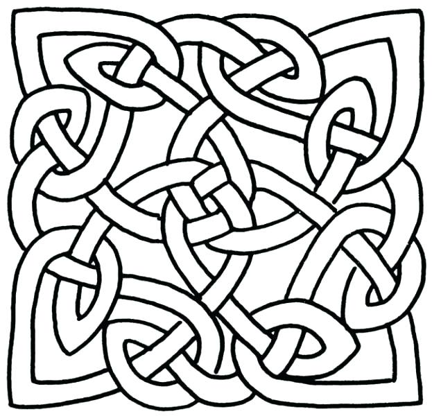 623x600 This Is Knot Coloring Pages Images Page Cross Inside This Is Knot