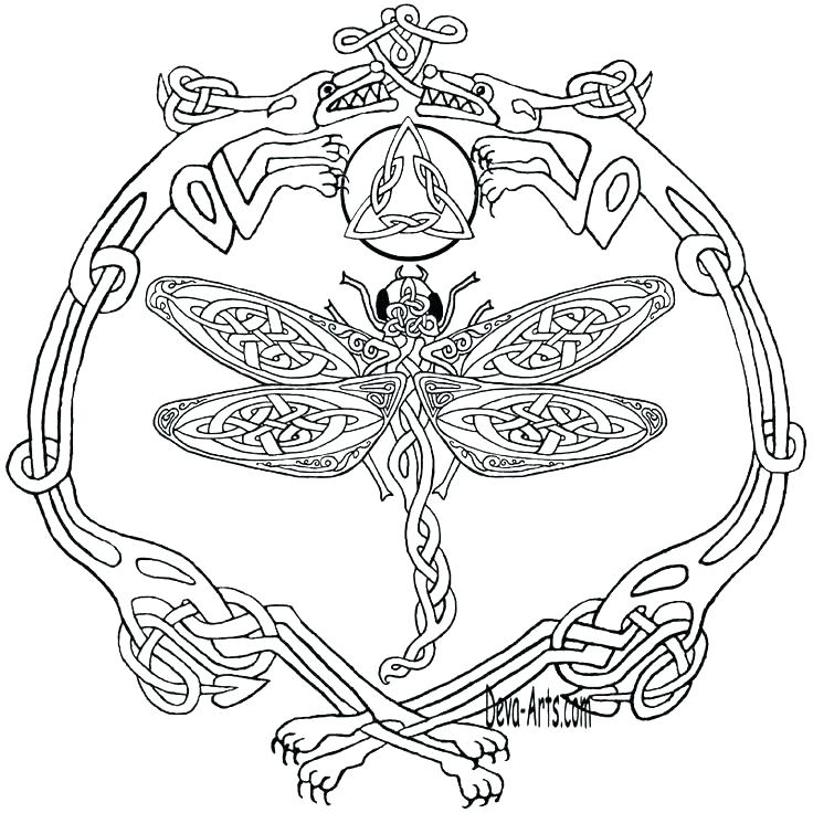 736x736 Celtic Knot Coloring Pages Love Knot Coloring Page Pages