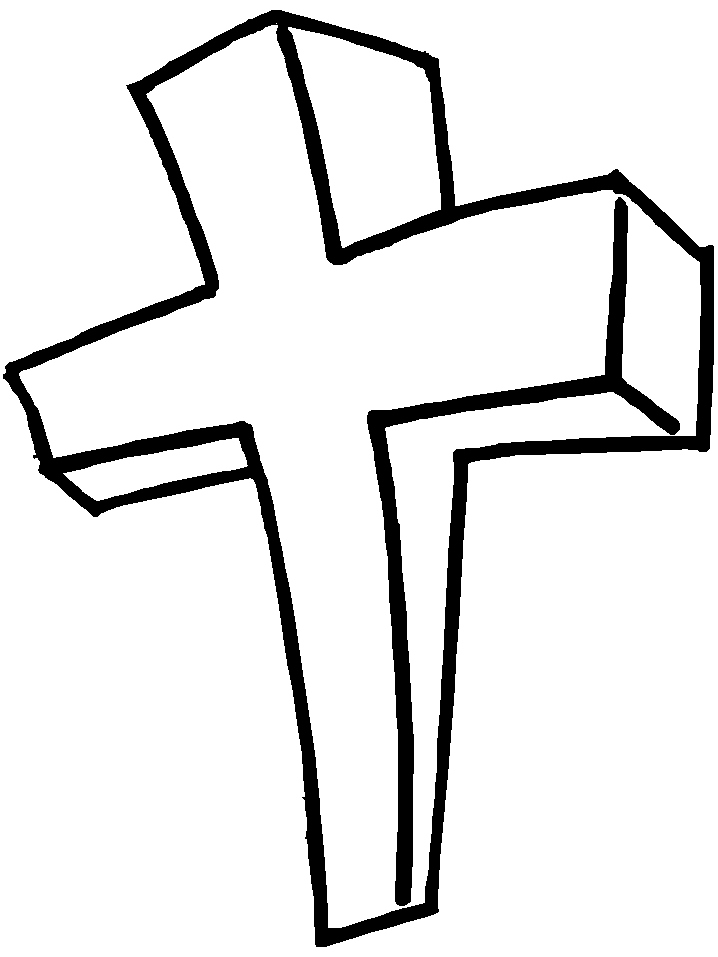 718x957 Cross Coloring Pages Lovely Free Easter Cross Coloring Pages