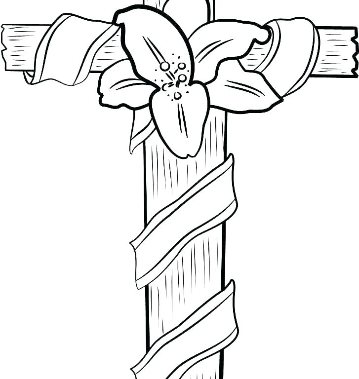727x768 Cross Coloring Pages Stations Of The Cross Coloring Pages Stations
