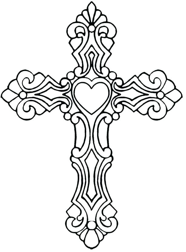 615x832 Celtic Cross Coloring Pages Cross Coloring Pages Pretty