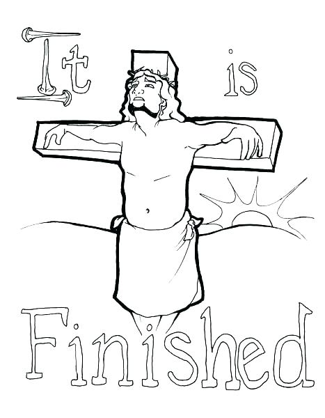 467x600 Cross Color Pages Coloring Pages Of A Cross Stations Of The Cross