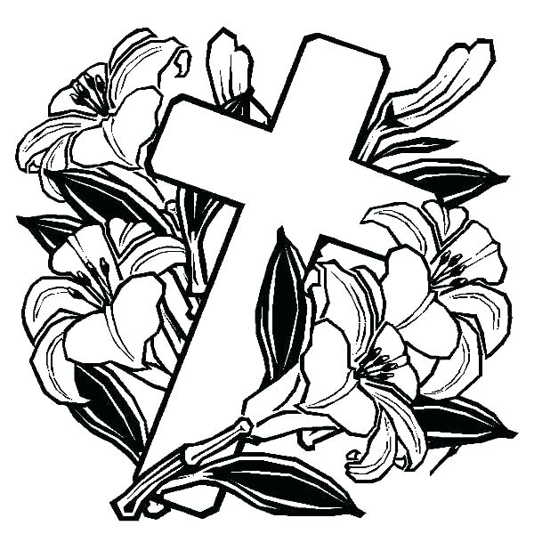 600x600 Cross Coloring Pages Cross Coloring Page Celtic Cross Coloring