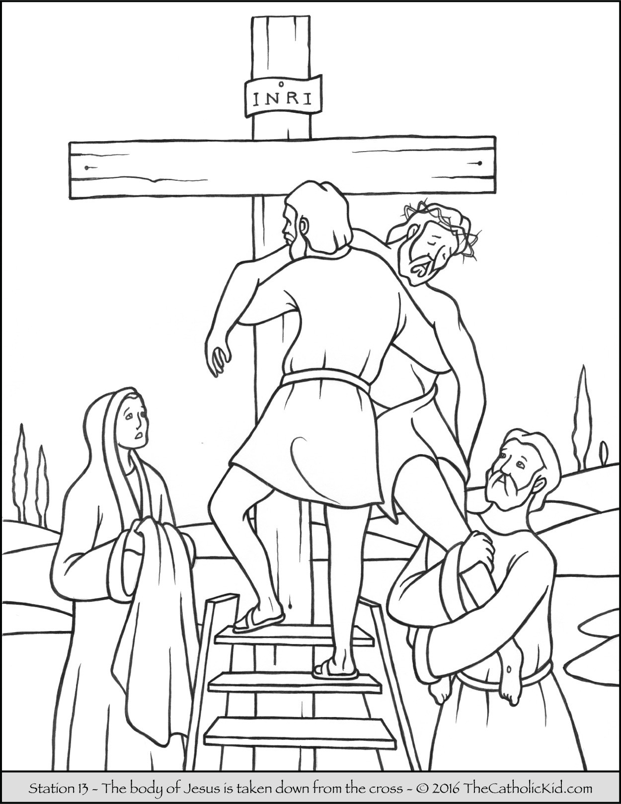 1250x1618 Free Printable Cross Coloring Pages For Kids Incredible Easter
