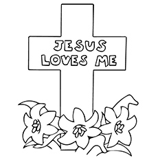 230x230 Top Free Printable Cross Coloring Pages Online