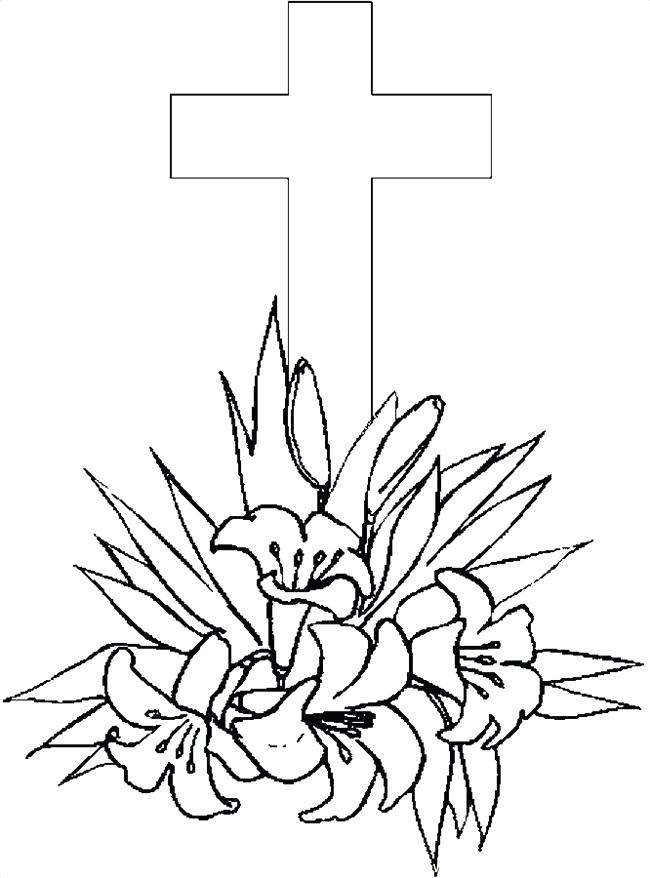 650x878 Cross Color Pages Printable Cross Coloring Page For Kids Celtic