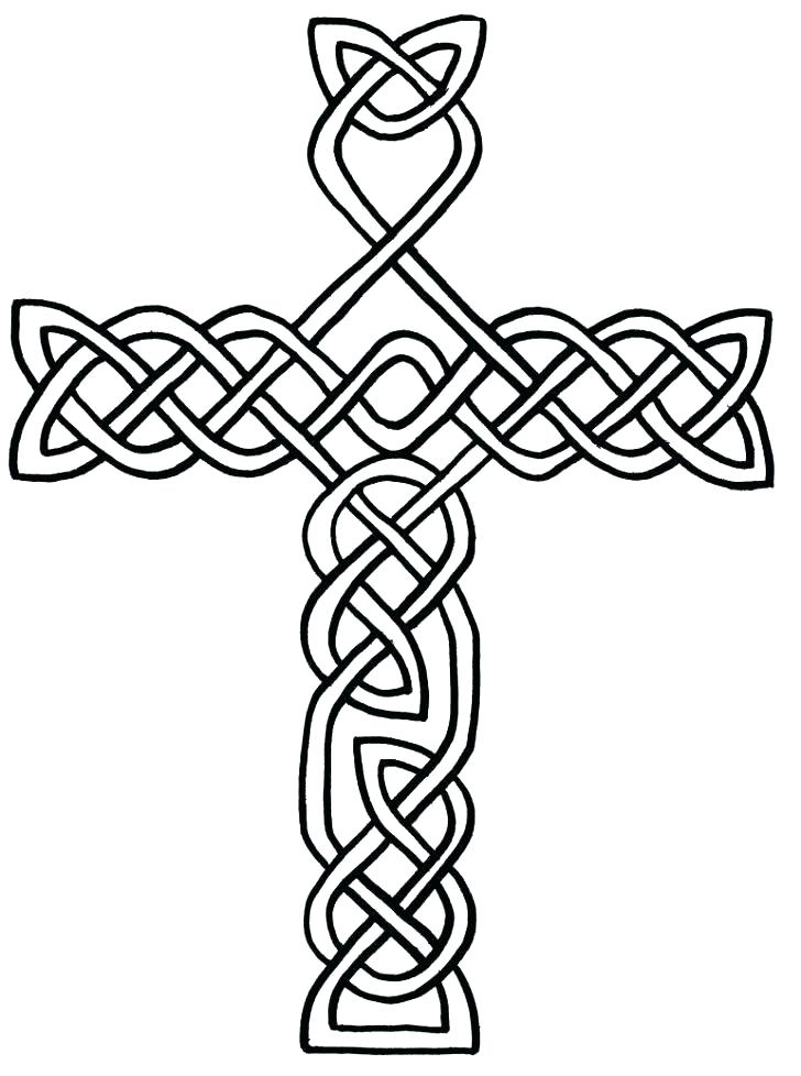 728x978 Cross Coloring Pages Printable Cross Coloring Pages Printable