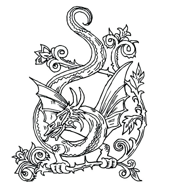 600x658 Designs Coloring Pages Cross Coloring Pages Adults Color Pages