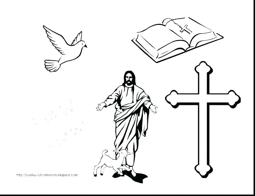 878x678 Printable Cross Coloring Sheets Printable Cross Coloring Pages