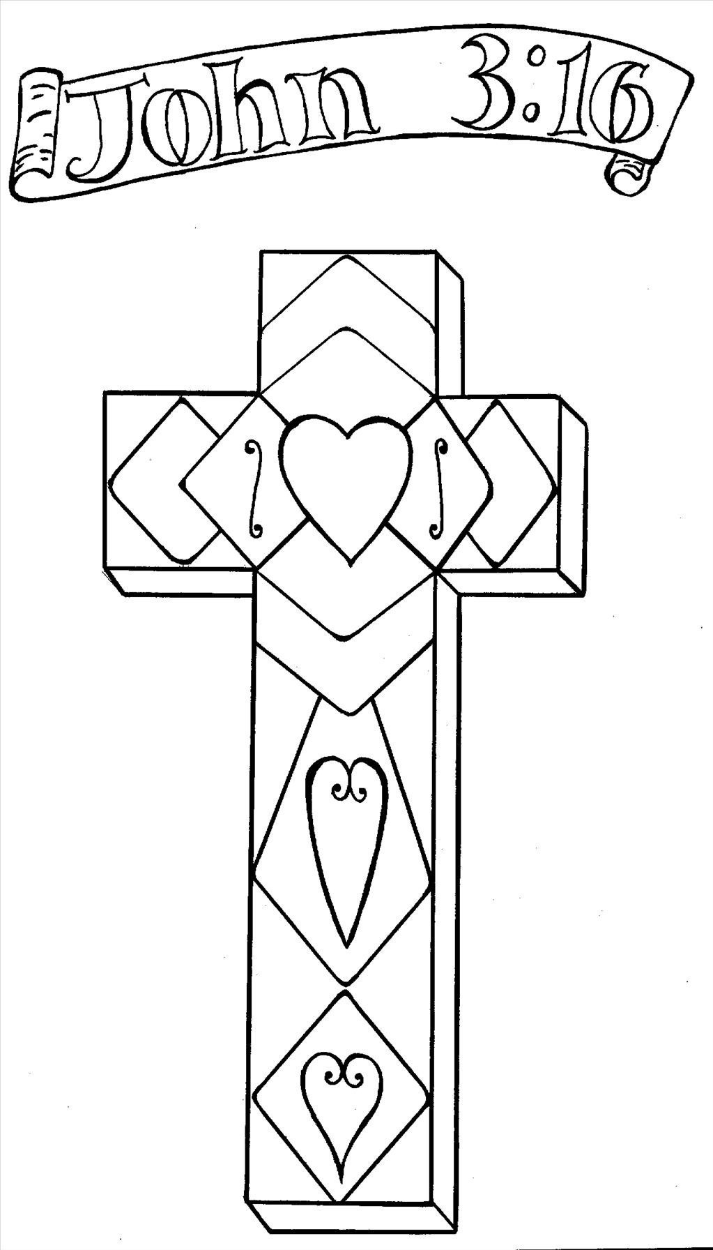 1023x1792 Cross Coloring Pages Printable Acpra Within Tixac