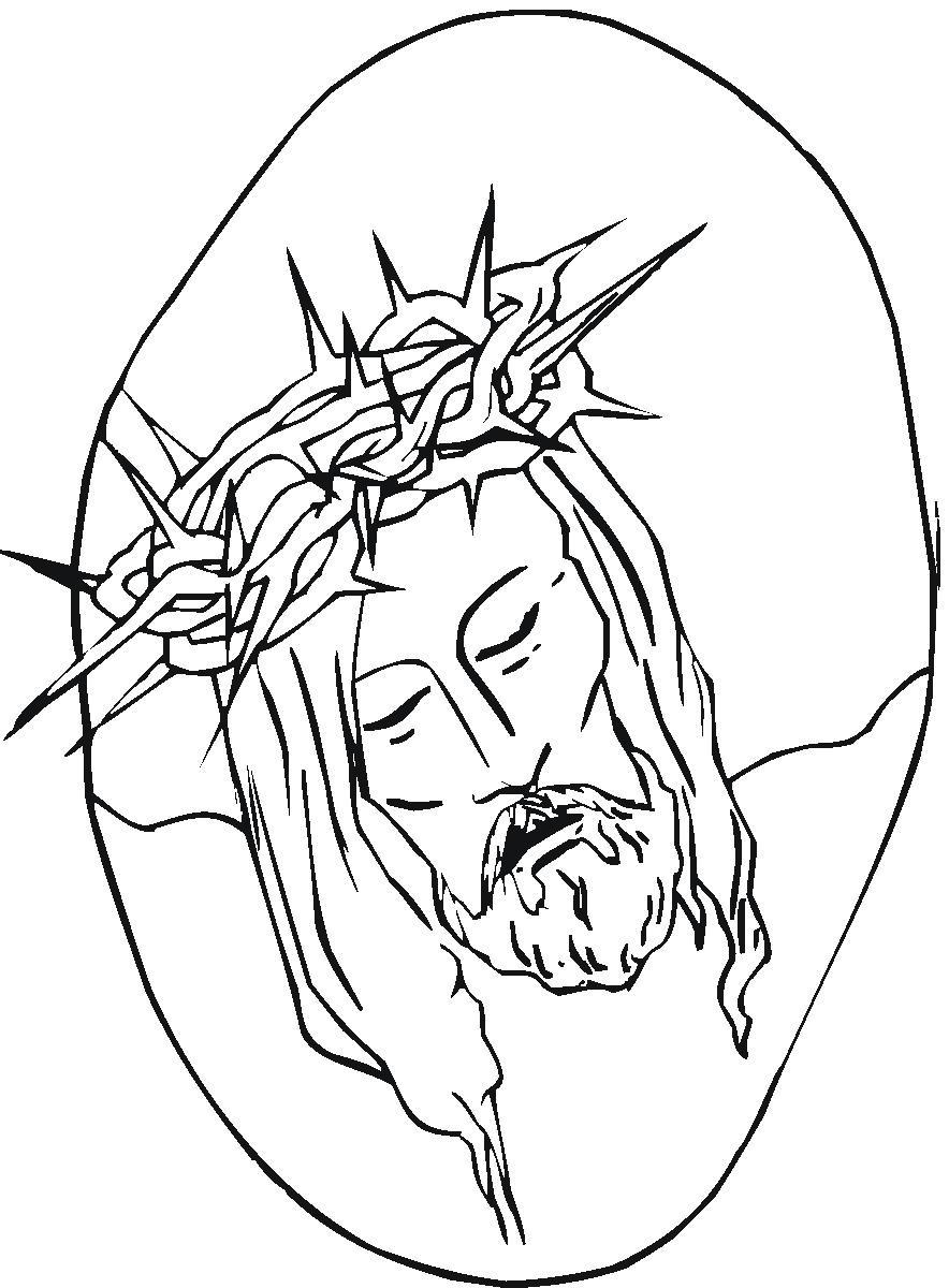 884x1200 Jesus Christ Coloring Pages