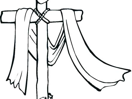 440x330 Ku Coloring Pages Cross Coloring Pages Printable Free On Cross