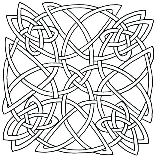 520x522 Celtic Designs Coloring Pages Printable Designs Free Printable