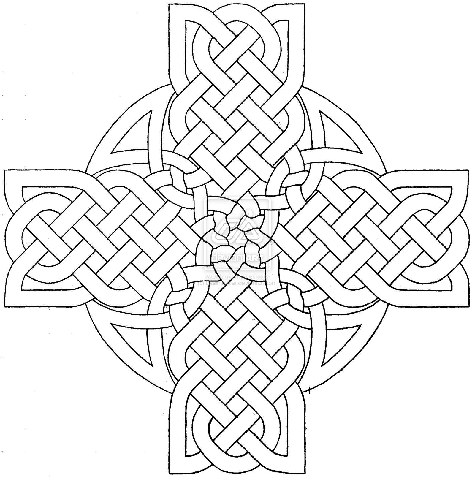 1600x1610 Celtic Mandala Coloring Pages Celtic Cross Design