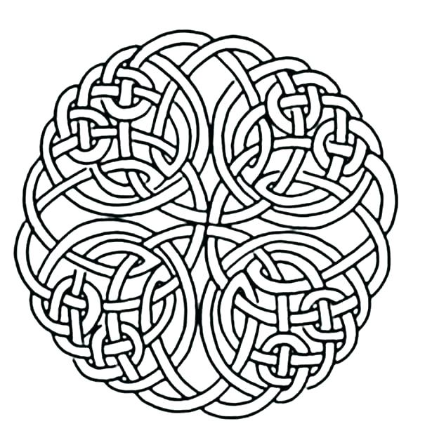 615x634 Celtic Coloring Pages Cemetery Cross Coloring Pages Printable