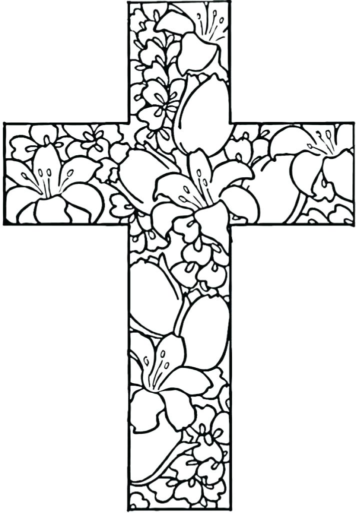 712x1024 Coloring Pages Of A Cross Cross Coloring Page Cross Coloring Pages