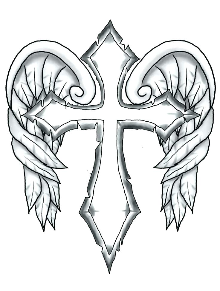 736x976 Cross Coloring Pages Celtic Cross Mandala Coloring Pages