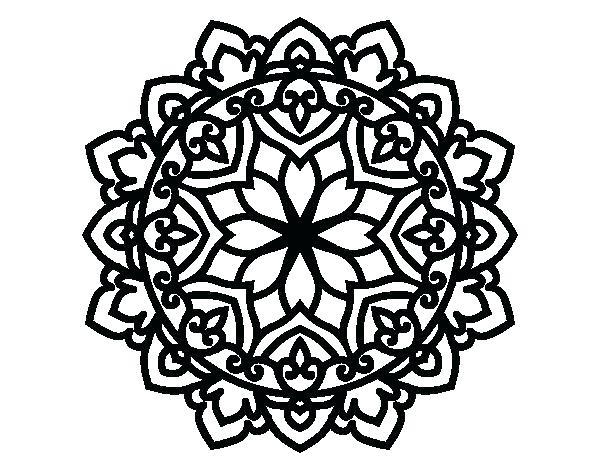 600x470 Celtic Cross Coloring Pages Mandala Coloring Pages Mandala