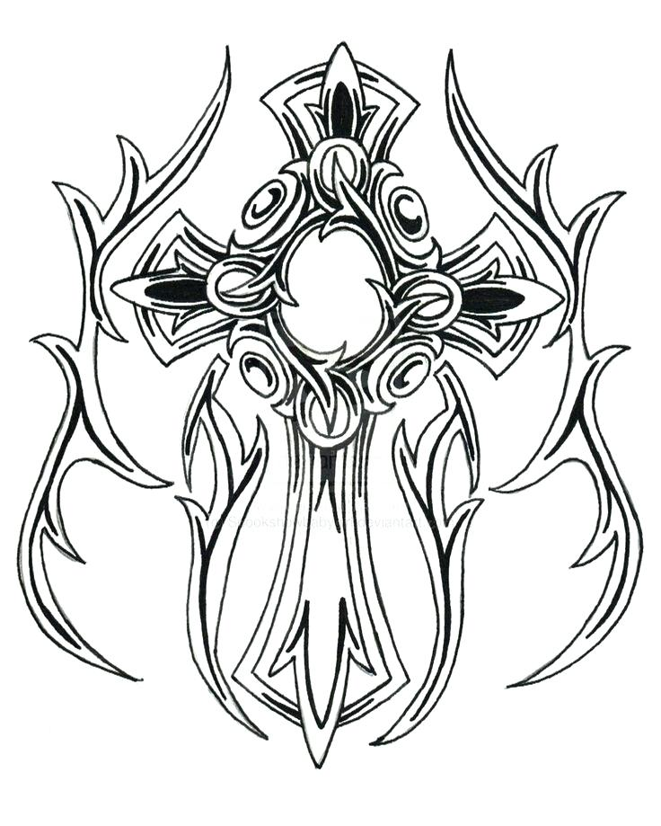736x919 Tattoo Coloring Pages To Print