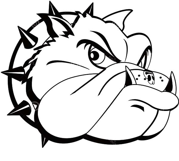600x540 Bulldog Tattoo Coloring Pages Best Place To Color