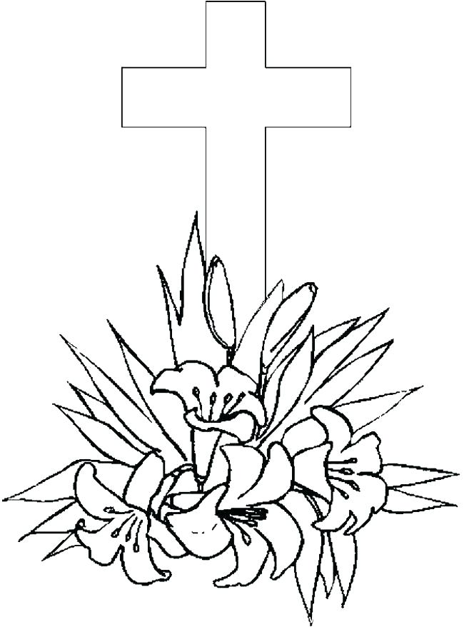650x878 Coloring Pages Crosses Coloring Pages Crosses Cross Color Page