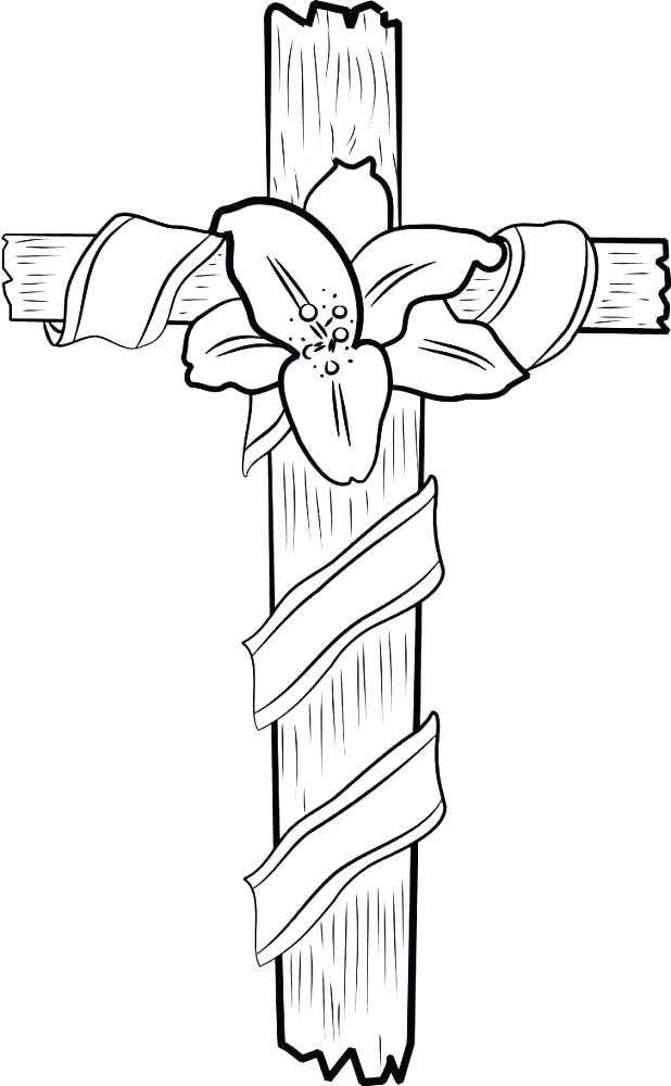 618x1000 Coloring Pages Crosses Coloring Pages Of Crosses Cross Coloring