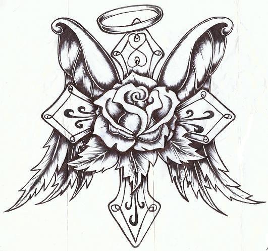 531x497 Drawings Of Roses