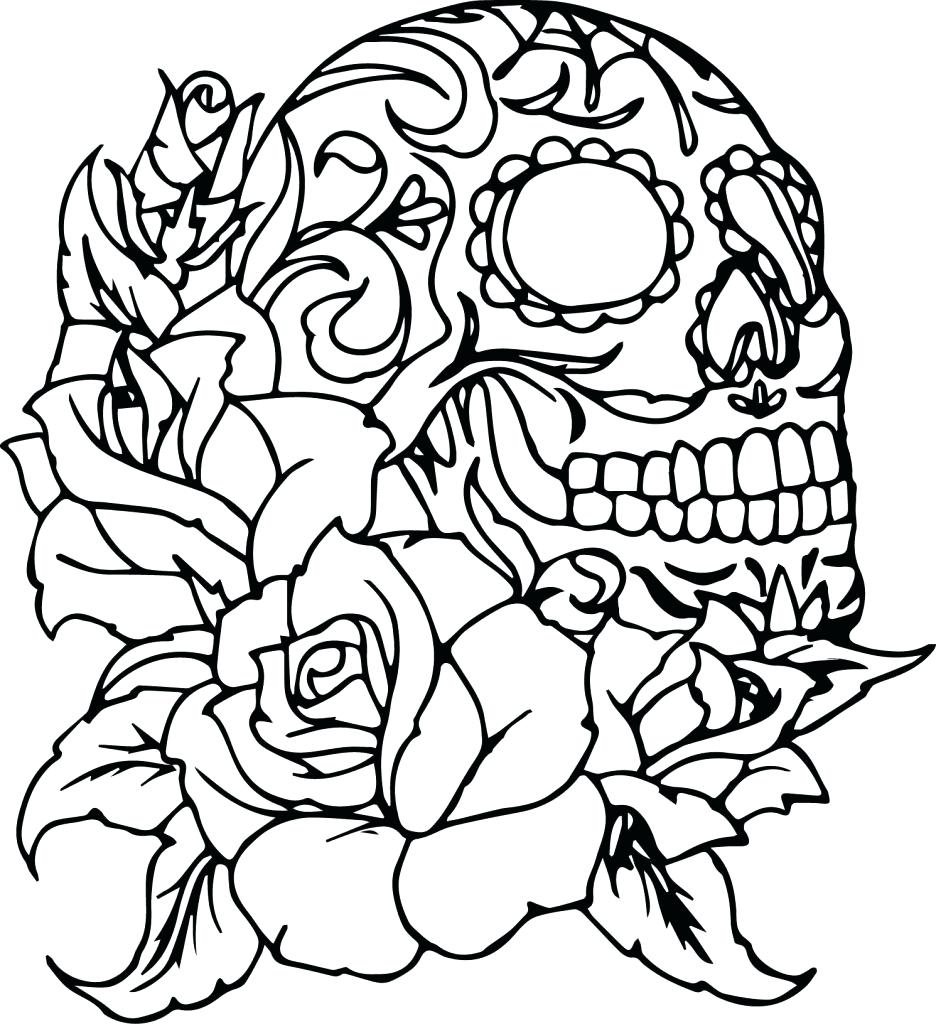 936x1024 Printable Cross And Roses Coloring Pages Printable