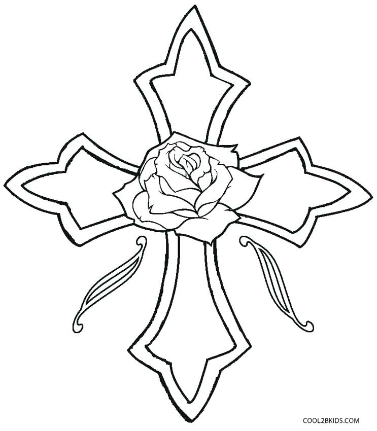 743x850 Coloring Pages Of A Cross Coloring Pages Of A Cross Related Post