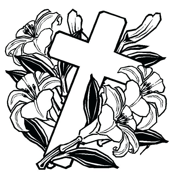 600x600 Free Printable Cross Coloring Pages Cross Coloring Pages Cross