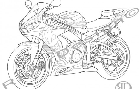 470x300 Yamaha Coloring Page Projects To Try Yamaha