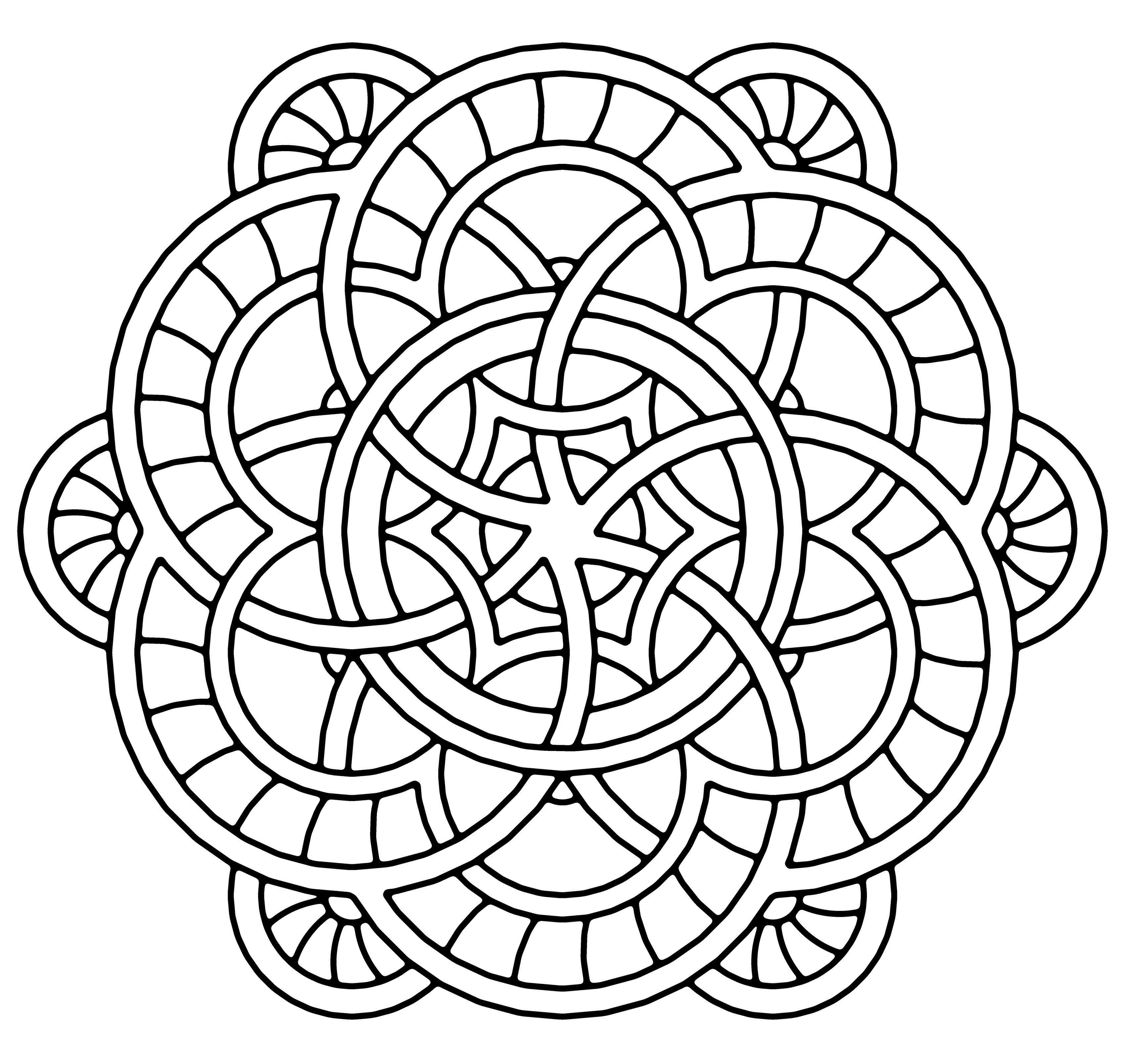 3400x3217 Free Coloring Pages Of Mandala Branding Inspiration