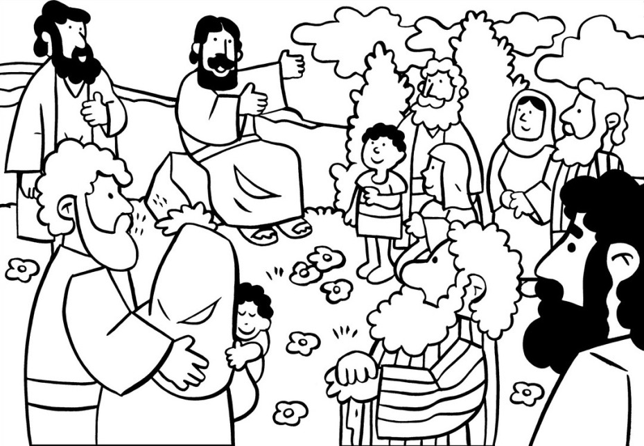 929x643 Beatitudes Coloring Pages Compilation Free Coloring Pages