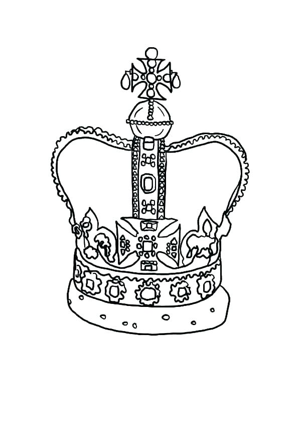 600x844 Crown Of Thorns Coloring Page Crown Of Thorns Coloring Page Crown