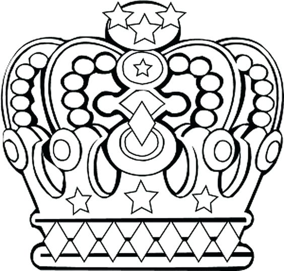 564x539 Coloring Crowns Color Pages Disney Crown Coloring Page Queen
