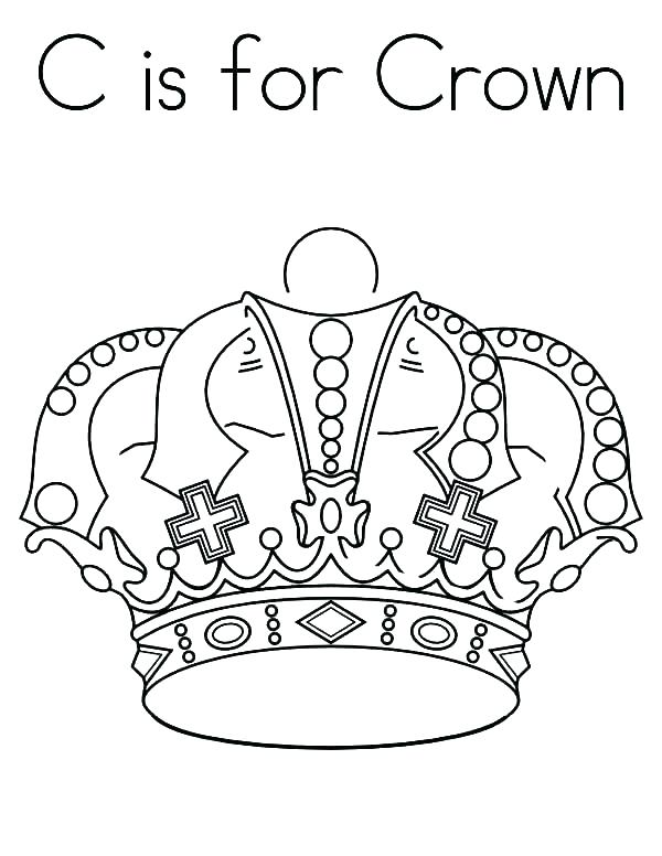 600x776 Crown Coloring Page Awesome Crowns Coloring Pages Best Of Free