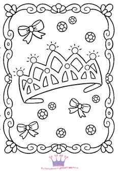 236x337 Top Free Printable Crown Coloring Pages Online Journaling