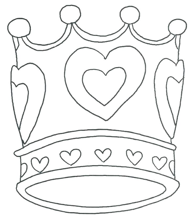 728x839 Coloring Pages Princesses Princess Crown Coloring Page Tiara