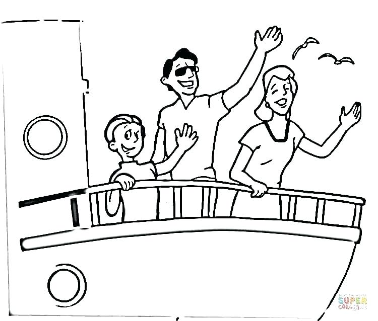 750x638 Cruise Ship Coloring Pages Click The To View Printable Version