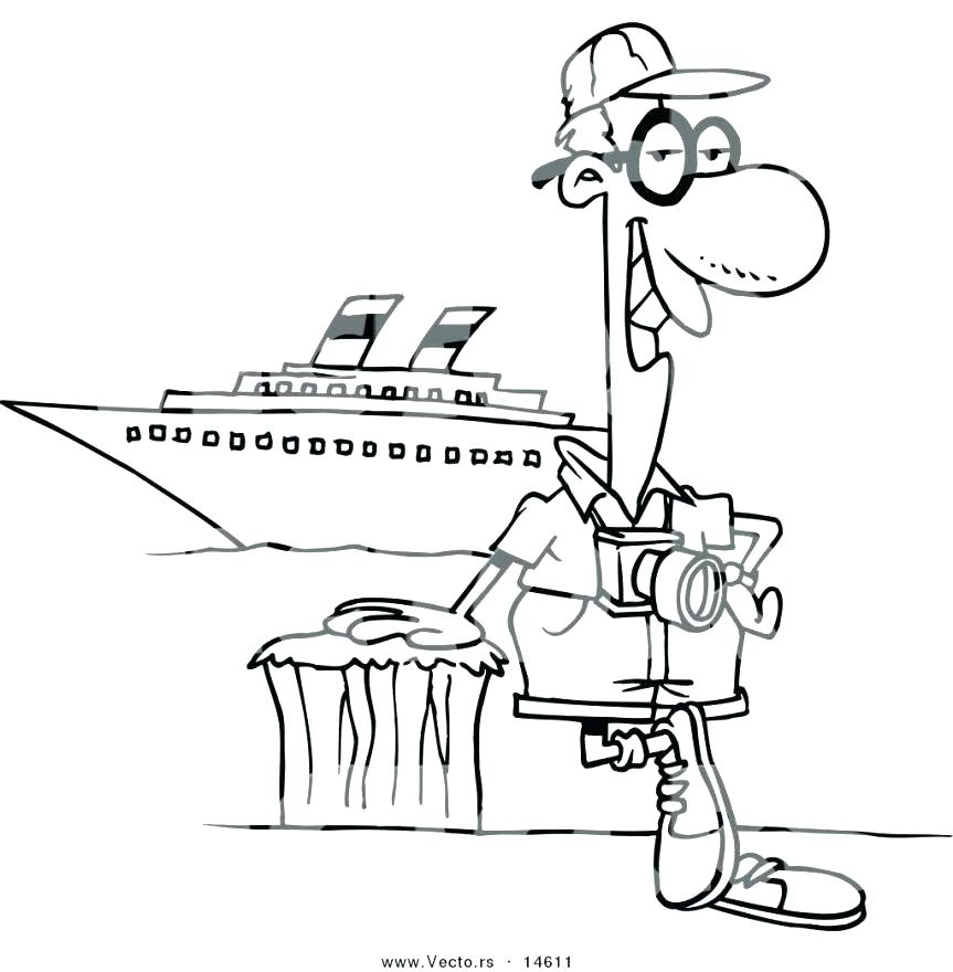 863x880 Boat Coloring Sheet Coloring Page Cruise Ship Coloring Pages Boat